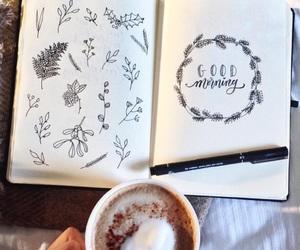 art, bw, and draw image