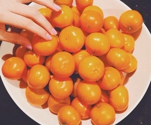 happiness, sweetness, and tangerines image