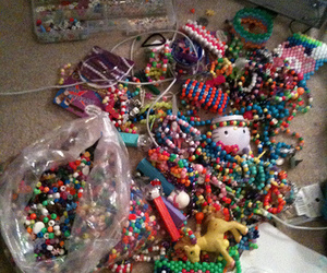 beads, rave, and kandi image