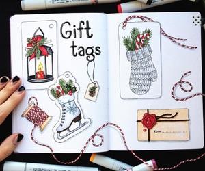 art, christmas, and draw image