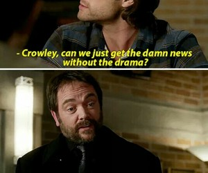 actor, awsome, and crowley image