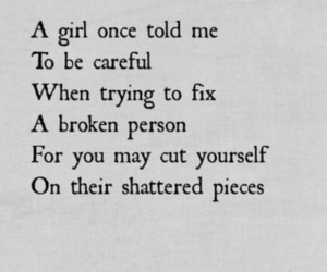 quotes, broken, and sad image