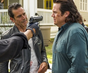 Eugene, the walking dead, and negan image