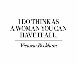 quote, words, and victoria beckham image