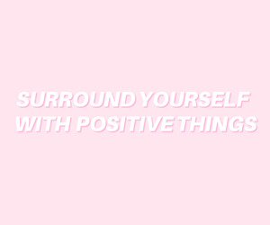 encouraging, pink, and positive image
