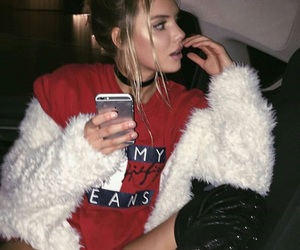 girl, alissa violet, and red image