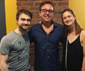daniel radcliffe, bonnie wright, and harry potter image