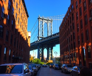 architecture, Brooklyn, and brooklyn bridge image