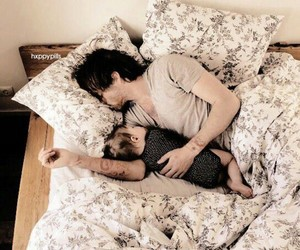 baby, manip, and bed image
