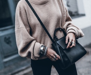 accessories, dark fashion, and shopping image