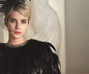 emma roberts, scream queens, and chanel image
