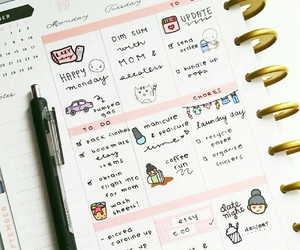 daily, motivation, and planner image