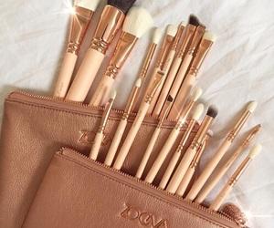 beauty, Brushes, and fashion image