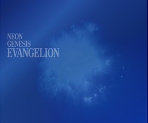 anime, blue, and Neon Genesis Evangelion image