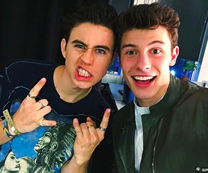 nash grier and shawn mendes image