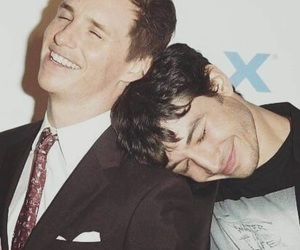 ezra miller, eddie redmayne, and fantastic beasts image