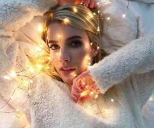 emma roberts, light, and blonde image