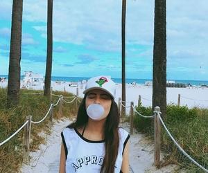 girl, Miami, and tumblr image