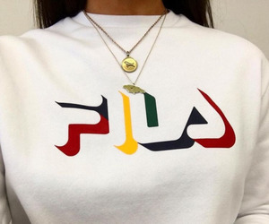 fashion, Fila, and style image