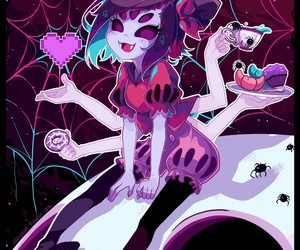 muffet and undertale image