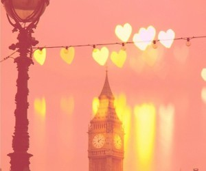 heart, love, and london image