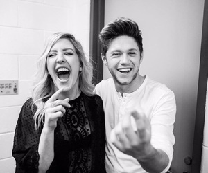 horan, niall horan, and black+and+white image