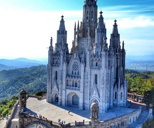 architecture, Barcelona, and beauty image