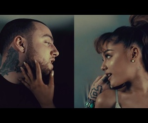 mac miller, arianagrande, and my favorite part image