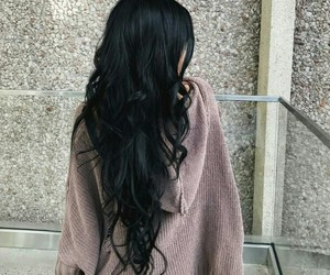 hair, black, and beauty image