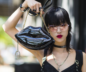 fashion, model, and streetstyle image