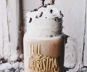 winter, christmas, and drink image