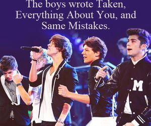 one direction, song, and facts image