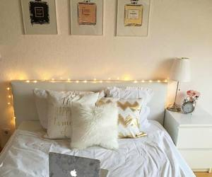 apple, bed, and cozy image