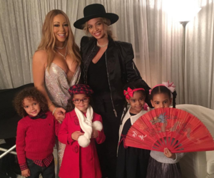 beyoncé and Mariah Carey image