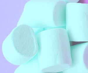 blue and marshmallow image