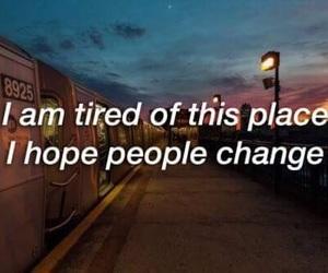 sad, tired, and people image