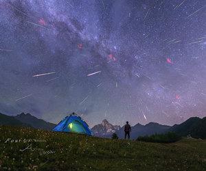 stars, beautiful, and night image