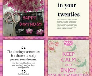 birthday, happy birthday, and twenties image