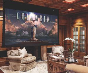 home, house, and cinema image