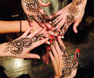henna, tattoo, and gigi hadid image