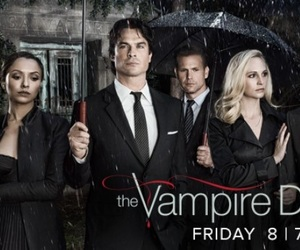 cover, Vampire Diaries, and damon image