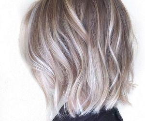 hair, haircut, and short hair image