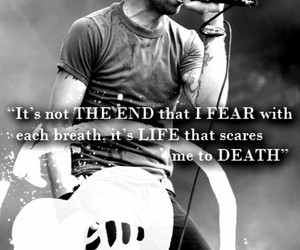 quote, rise against, and life image
