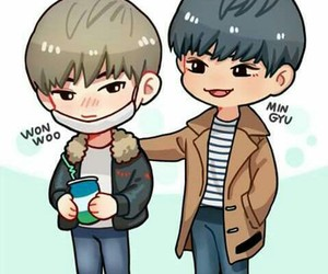 fanart, Seventeen, and meanie image