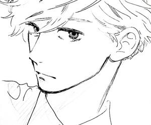 manga, mamura, and japan image