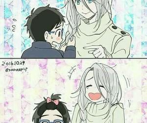 yuri on ice, anime, and yuri!!! on ice image
