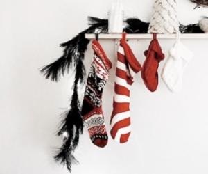 christmas, winter, and stockings image