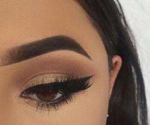 eye, eyeshadow, and make up image