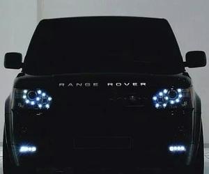 car, range rover, and black image