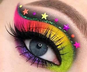 beauty, cosmetics, and eyeliner image